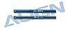 100 Hauptrotorwelle Aluminium blau