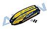 MR25 Kabinenhaube lackiert, schwarz/gelb