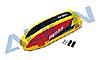 MR25 Kabinenhaube lackiert, gelb/rot/sch