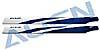 325 Carbon Rotorblätter, blau