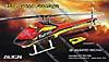 450L Speed Rumpf rot/gelb