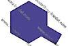 PS-18 Metallic Violett Polycarb. 100ml