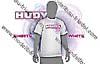 HUDY  T-Shirt  Weiss (L)