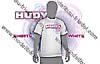 HUDY  T-Shirt  Weiss (M)