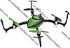 Dromida Verso Quadrocopter green/grün RT