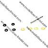 Blade Spindel mit Lagern und O-Ringen :