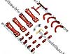 Plastic Kit, Red: Vortex 230