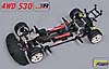 CHASSIS SPORTSLINE 4WD 530 E RTR