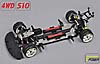 CHASSIS SPORTSLINE 4WD 510 E