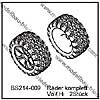 Räder komplett Vo / Hi (2 Stück) - BEAST