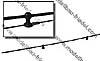 Antennenhalter schwarz mit Rohr