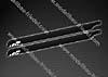 matt black 700  Länge 700 mm