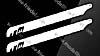 Symmetrisches FBL Blatt Länge 435 mm
